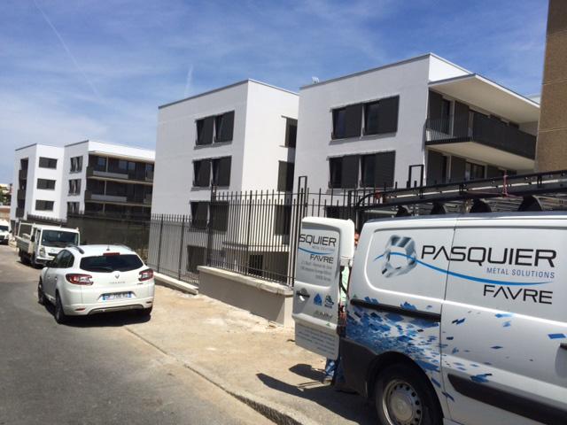Le chantier Hôpital Debrousse se termine